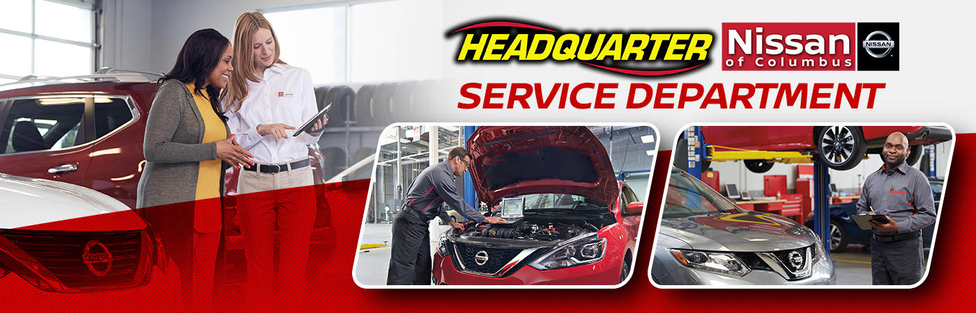 Service Department | Headquarter Nissan Dealership