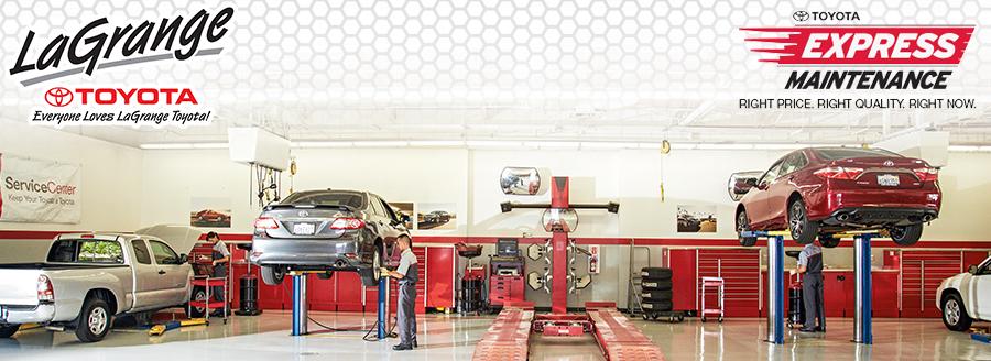 Toyota Express Maintenance Header