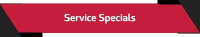 Audi Service Service Specials