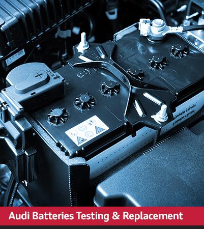 Audi Service batteries