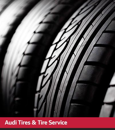 Audi Service tires