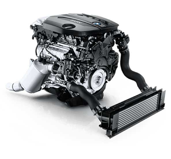 The 328d features BMW's 2.0-liter TwinPower Turbo Diesel 4-cylinder engine