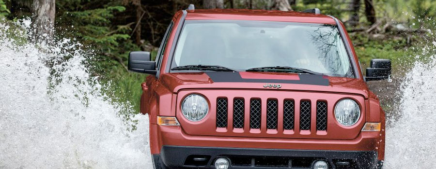 2017 Jeep Patriot BODY-COLOR FASCIA