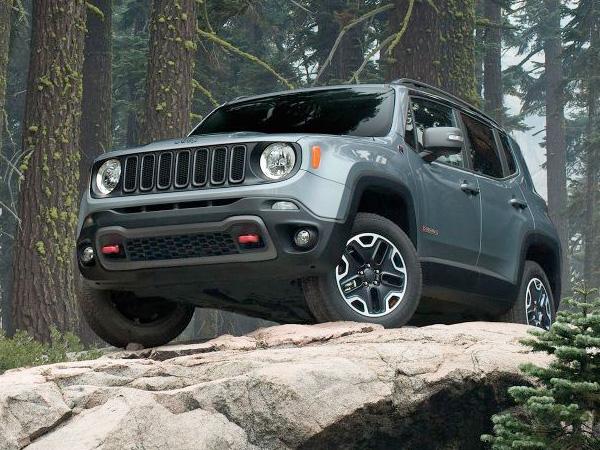 2017 Jeep Renegade Deep-Tinted Glass