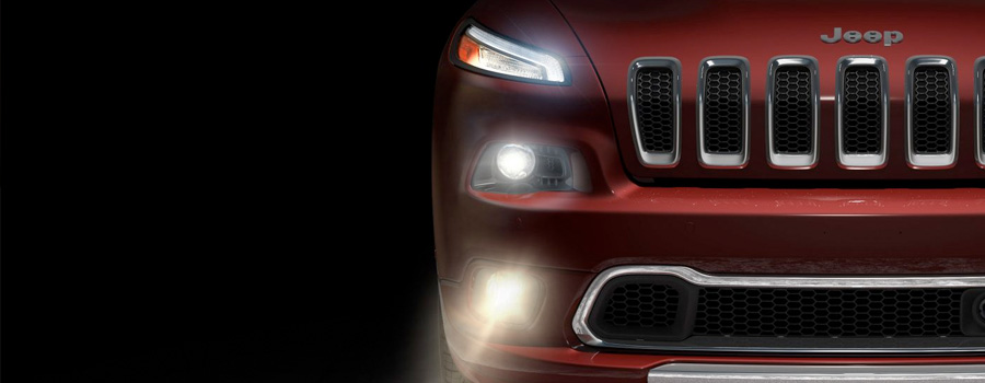 2017 Jeep Cherokee Signature LED Daytime Running Lamps