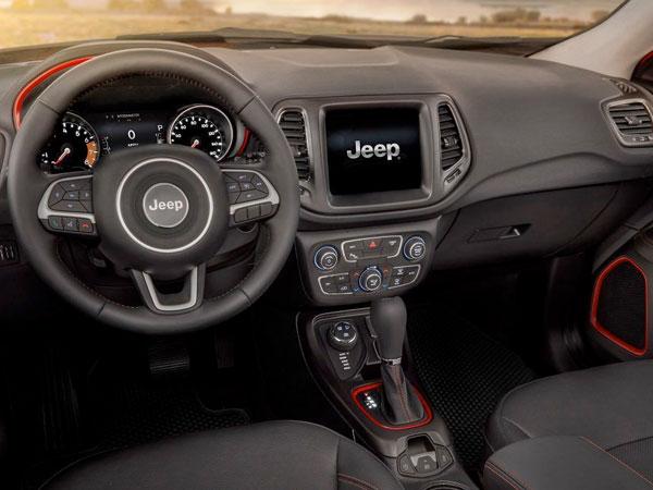 2017 Jeep Compass Power Sunroof