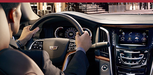 2016 Cadillac HEAD-UP DISPLAY