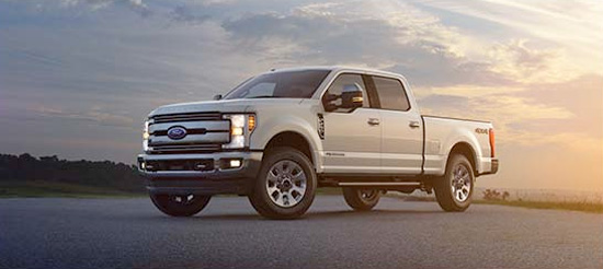2017 Super Duty 2 Truck Wheelbases and Body Lengths