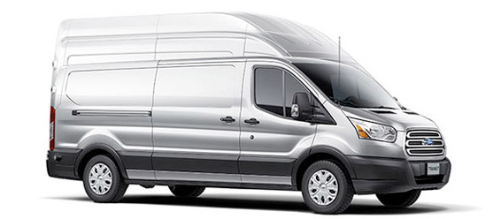 2017 Ford Transit Three Roof Heights