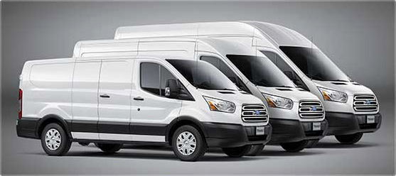 2017 Ford Transit Wheelbases and Body Lengths