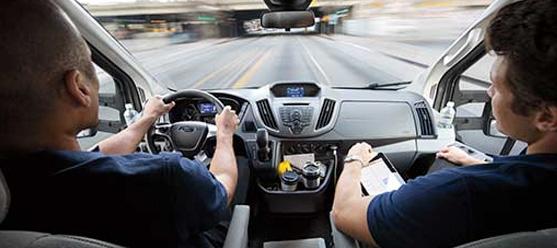 2017 Ford Transit Modern Interior