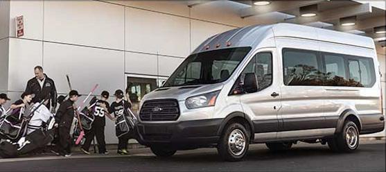 2017 Ford Transit Passenger Wagon Seating