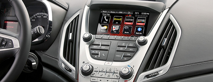 2017-GMC-Terrain-Available Color Touch Radio with IntelliLink