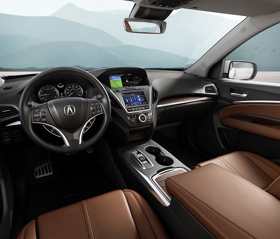 2017 Acura MDX Revolutionary engineering-just to give you a thrill.