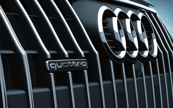 2017 Audi A4 allroad Singleframe® grille Xenon plus headlights