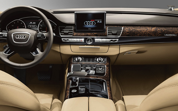 2017 Audi A8 L Eighteen-way power front comfort seats