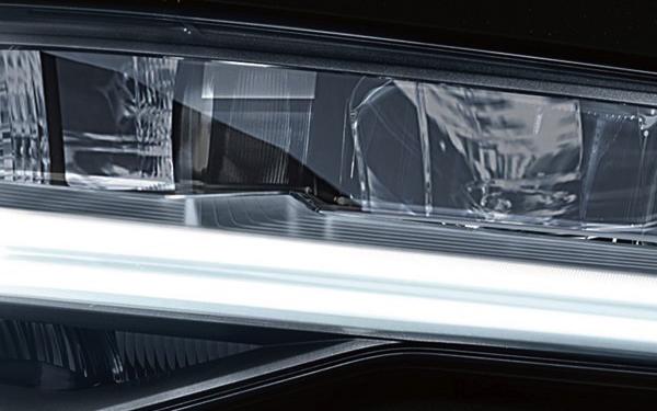 2017 Audi S6 LED headlights