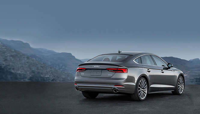 Behold the A5 Sportback body of artwork