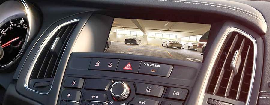 2017-Buick-Cascada Convertible REAR VISION CAMERA