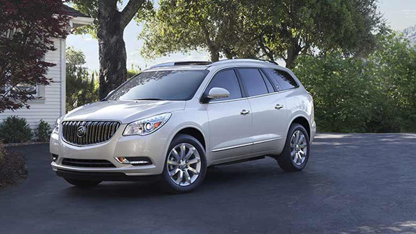 2017-Buick-Enclave-luxury SUV that's spacious