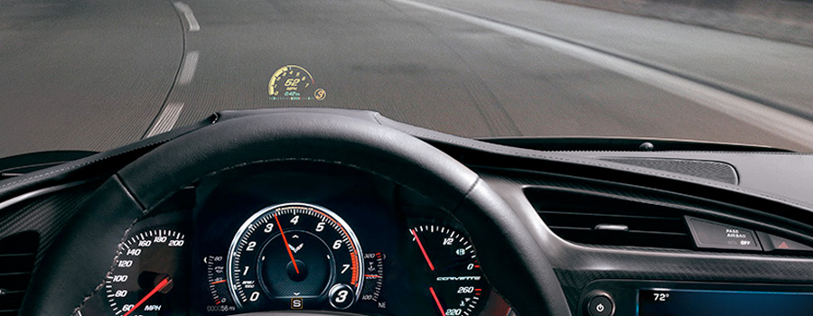 2017-chevrolet-Corvette Reconfigurable Instrument Cluster