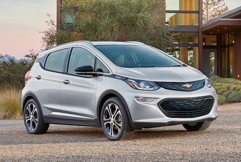 2019 Chevy Bolt EV Design
