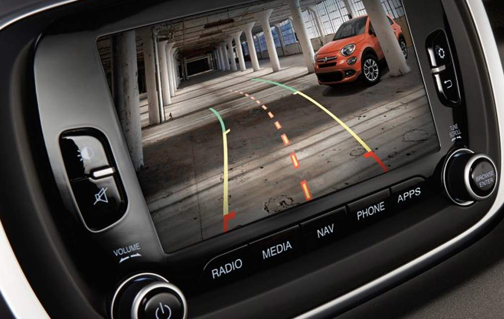 2017 FIAT 500x BLIND SPOT MONITORING