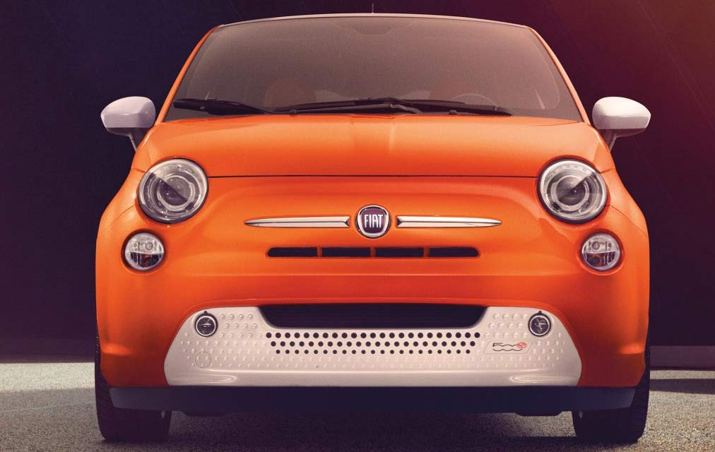 2017 Fiat 500e CLEAR THE WAY