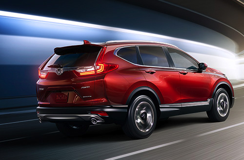 2017 Honda CR-V Profile That Goes Anywhere