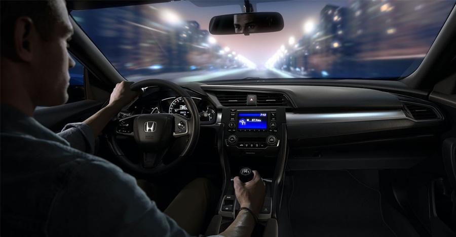 2017 Honda Civic Coupe Honda Sensing