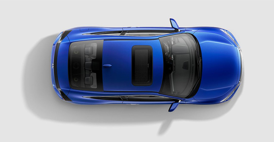 2017 Honda Civic Coupe Lane Keeping Assist System
