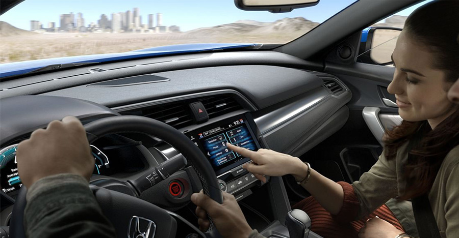 2017 Honda Civic Coupe Dynamic Directions