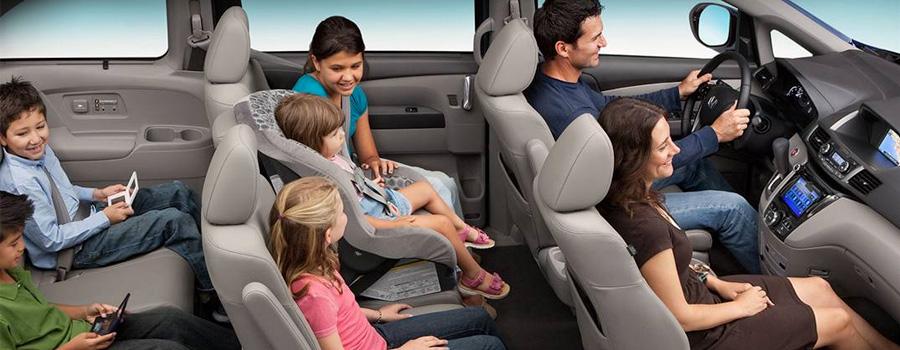 2017 Honda Odyssey Top-Tier Interior