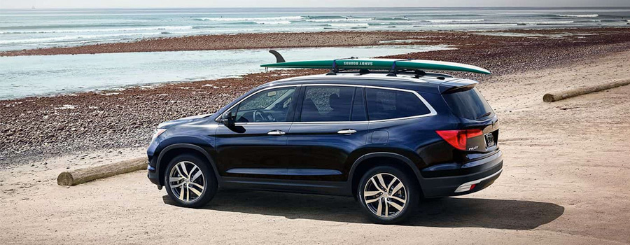 2017 Honda Pilot Front and Center
