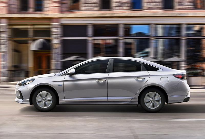 2019 Sonata Hybrid EXTERIOR