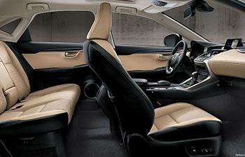 2017 Lexus NX MODERN INTERIOR DESIGN