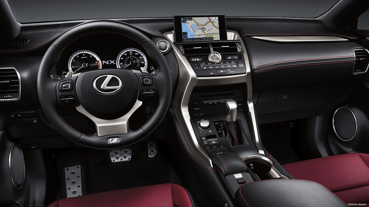 2017 Lexus NX HybridLEATHER-TRIMMED HEATED STEERING WHEEL AND LEATHER-TRIMMED SHIFT KNOB