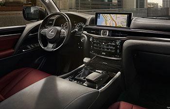 2017 Lexus lx ILLUMINATING TECHNOLOGY