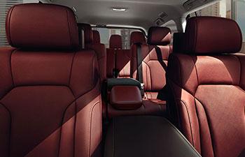 2017 Lexus lx THIRD-ROW SEATING