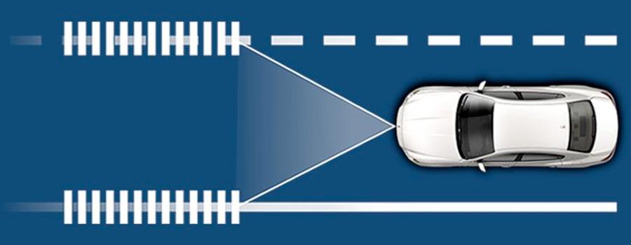 2017 Maserati Quattroporte  Lane Departure Warning System