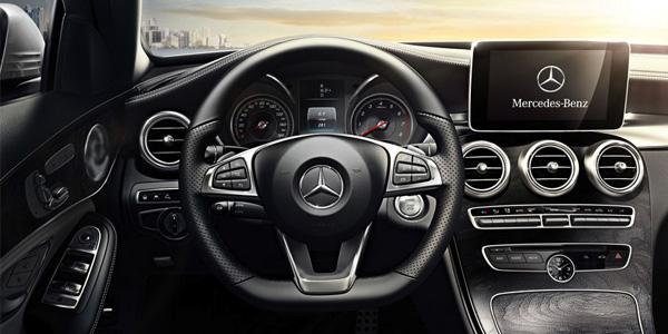 2017 Mercedes-Benz C-Class Flowing design