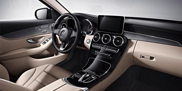 2017 Mercedes-Benz C-Class Sedan Focused on the driver