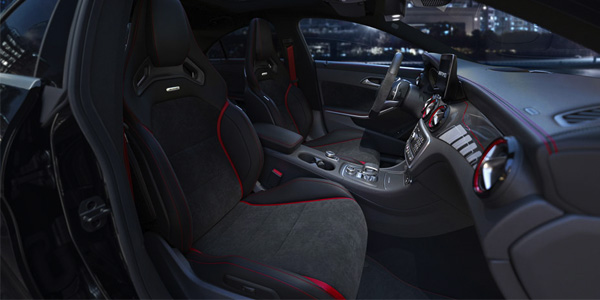 2017 Mercedes-Benz A cabin that's a step ahead. And a cut above.