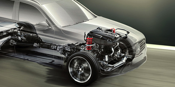 2017 Mercedes-Benz  Seven quick speeds. Twin shift paddles.