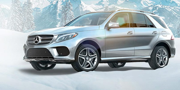 2017 Mercedes-Benz GLE SUV If you have an eye for design, all eyes will be on you.