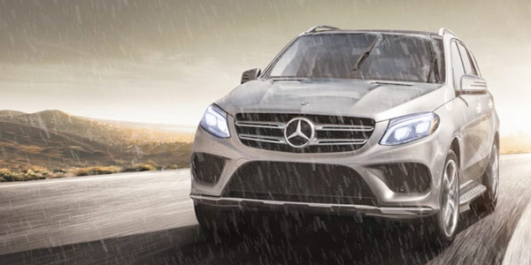 2017 Mercedes-Benz GLE SUV Rain-sensing windshield wipers