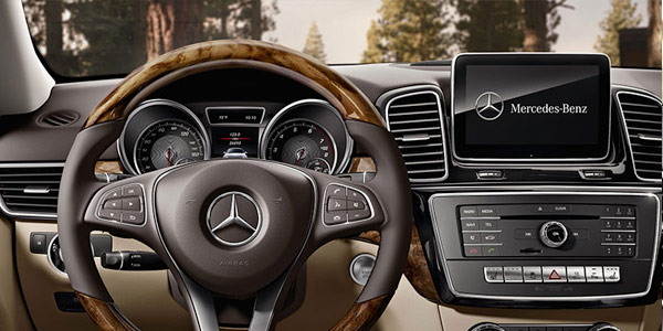 2017 Mercedes-Benz GLE SUV Engineered to please, from movie buffs to audiophiles.