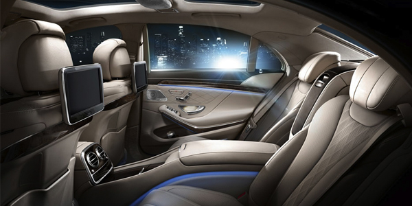 2017 Mercedes S-Class Sedan A cabin that follows the human form. And a century of tradition.