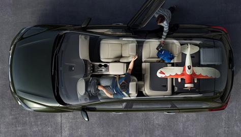2017 Nissan Pathfinder ZERO GRAVITY FRONT SEATS