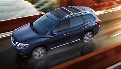 2017 Nissan Pathfinder INTELLIGENT CRUISE CONTROL